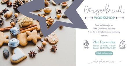 Gingerbread Workshop tickets