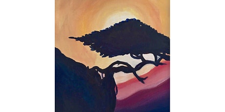 Bonsai Paint & Sip Night - Art Painting, Drink & Food tickets