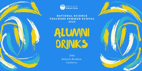 Alumni Drinks with NSTSS Canberra 2020 tickets