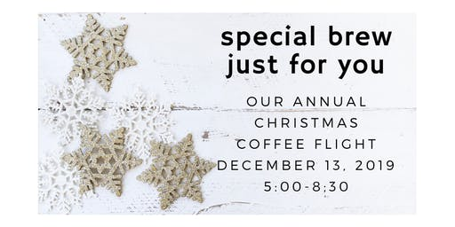 Annual Christmas Coffee Flight
