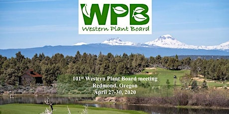 101st Western Plant Board Meeting tickets