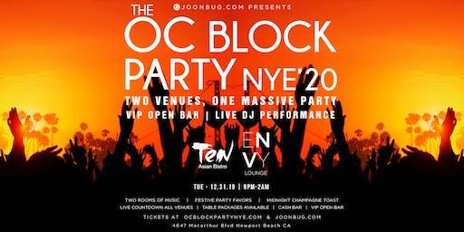 Orange County New Years Eve Block Party 2020