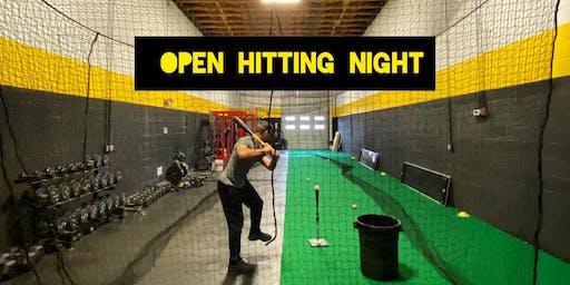 Open Hitting Night at TNL
