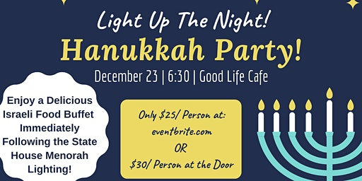 Light Up the Night: Hanukkah Party!