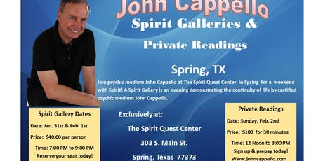 Spirit Galleries in Spring, Texas tickets