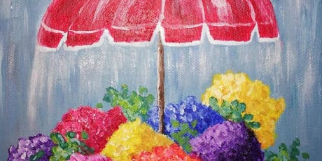 Flowers on a Rainy Day Paint Party tickets