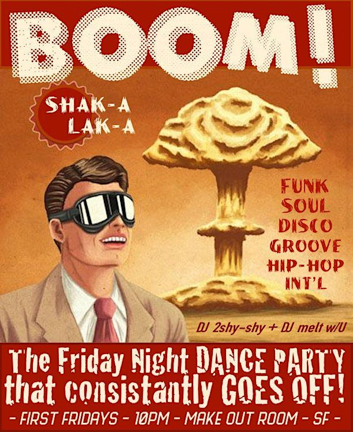 BOOM! Shak-a Lak-a ~ Friday Night Dance Party image
