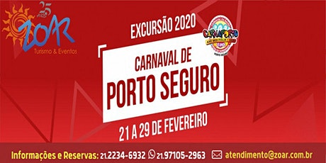 CARNAVAL PORTO SEGURO 2020 ingressos