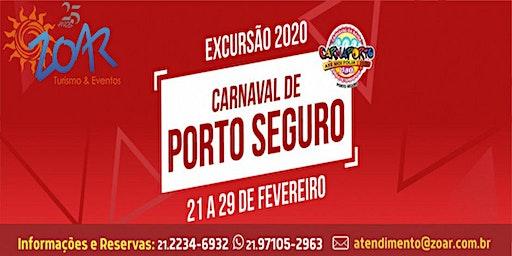 EXCURSÃO CARNAVAL PORTO SEGURO 2020