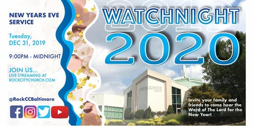 Watchnight Service 2019 ---> 2020