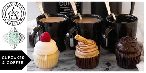 Cupcakes & Coffee, Holiday edtion featuring Designer Desserts & Cafe Fresco