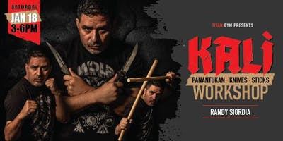 Kali Workshop with Randy Siordia