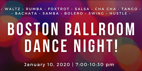 Boston Ballroom Dance Night tickets