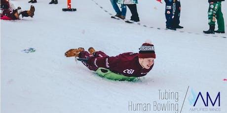 Tubing and Human Bowling tickets