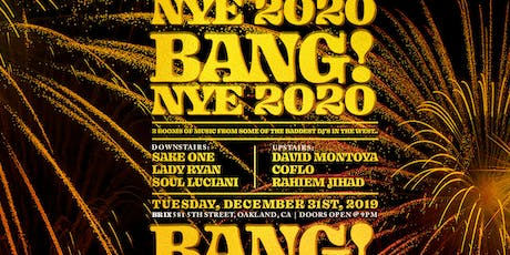 BANG! New Years Eve tickets