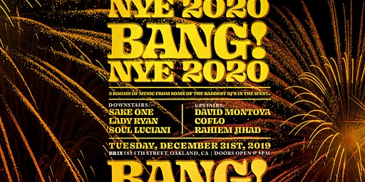 BANG! New Years Eve