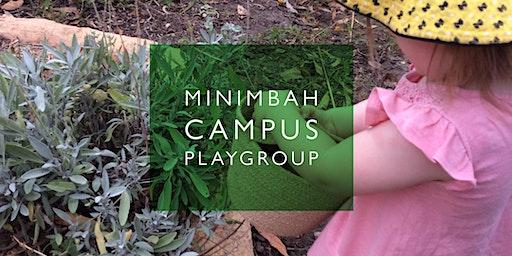 Playgroup at Minimbah 2020