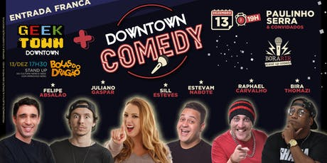 DOWNTOWN COMEDY ingressos