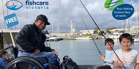FishAbility Fishing Clinics - By Fishcare Victoria *FREE* tickets