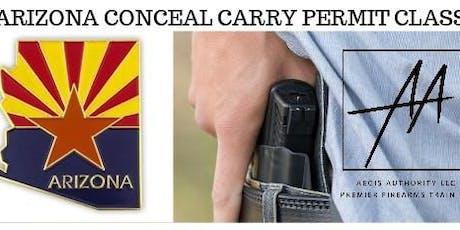 AZ CCW Class - Palm Desert tickets