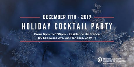 FACCSF - Holiday Cocktail Party tickets