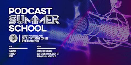 RadioHub Podcast Summer School tickets