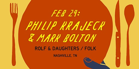 Dinner with Philip Krajeck at The Suttle Lodge tickets