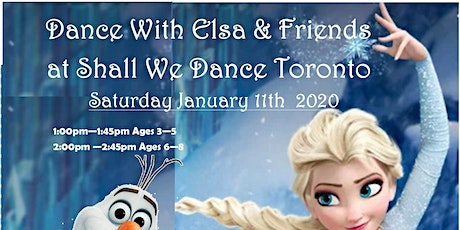 Dance with Elsa & Friends at Shall We Dance Toronto tickets