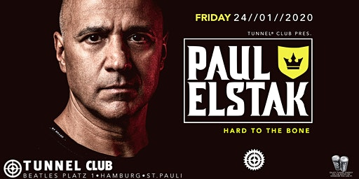 PAUL ELSTAK excl. @ TUNNEL CLUB * * * * *