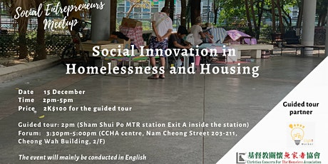 Social Innovation in Homelessness and Housing tickets