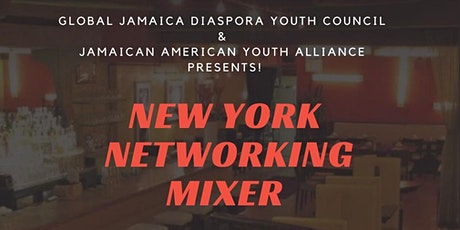Jamaican American Youth Alliance presents New York Networking Mixer tickets