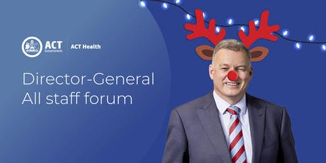 ACT Health Directorate End of Year All Staff Forum tickets