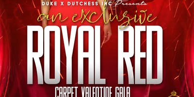Exclusive Royal Red Carpet Valentine's Gala