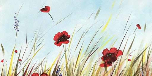 Poppy Field Brush Party - South Warnborough