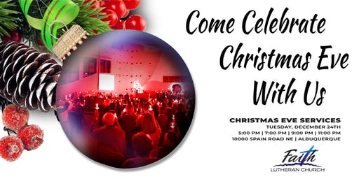 FLC Christmas Eve Services