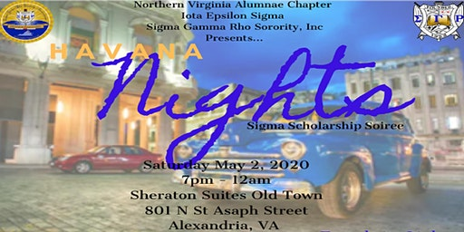 IES Havana Nights Sigma Scholarship Soiree