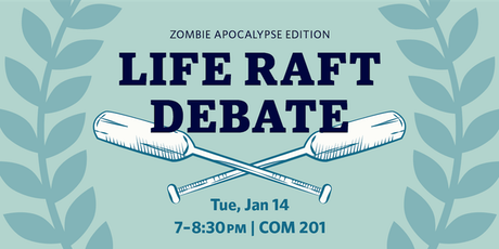 2nd Annual UBCO Life Raft Debate tickets