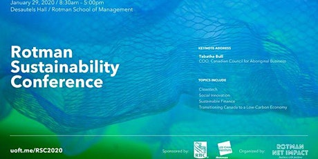 Rotman Sustainability Conference tickets