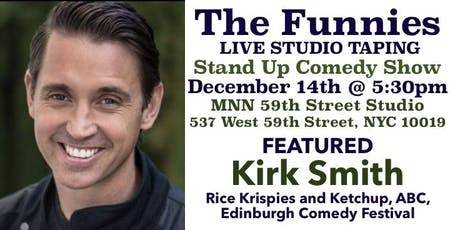 """""""The Funnies"""" is a Live Stand Up Comedy Studio Taping tickets"""