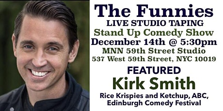 """The Funnies"" is a Live Stand Up Comedy Studio Taping tickets"