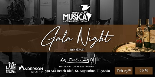 Unidos en la Musica 2020 Gala Hosted by La Cocina International