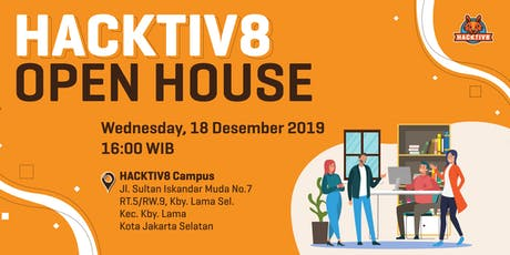HACKTIV8 Open House December 2019 tickets
