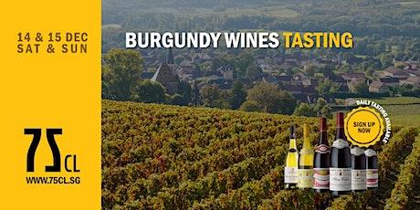 Burgundy Wines Tasting tickets