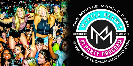 Myrtlemaniac Card Senior Week 2020 tickets