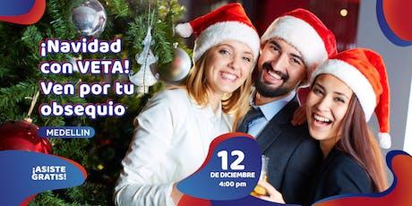 ¡Navidad con VETA! Ven por tu obsequio entradas