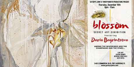 Secret Art Party - Blossom Art Show at Gatsby's Joint tickets