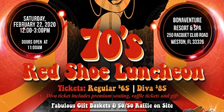 Flashback to the 70's Red Shoe Luncheon tickets