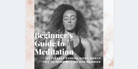 Beginner's Guide to Meditation tickets