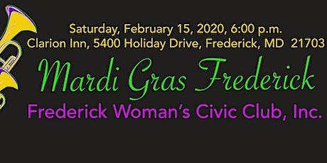 Mardi Gras Frederick 2020 tickets