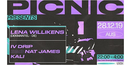 Picnic Presents. Lena Willikens (DEKMANTEL-DE) tickets